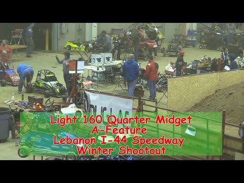 Light 160 Quarter Midget A Main   I 44 Speedway Winter Shootout 1 19 2018