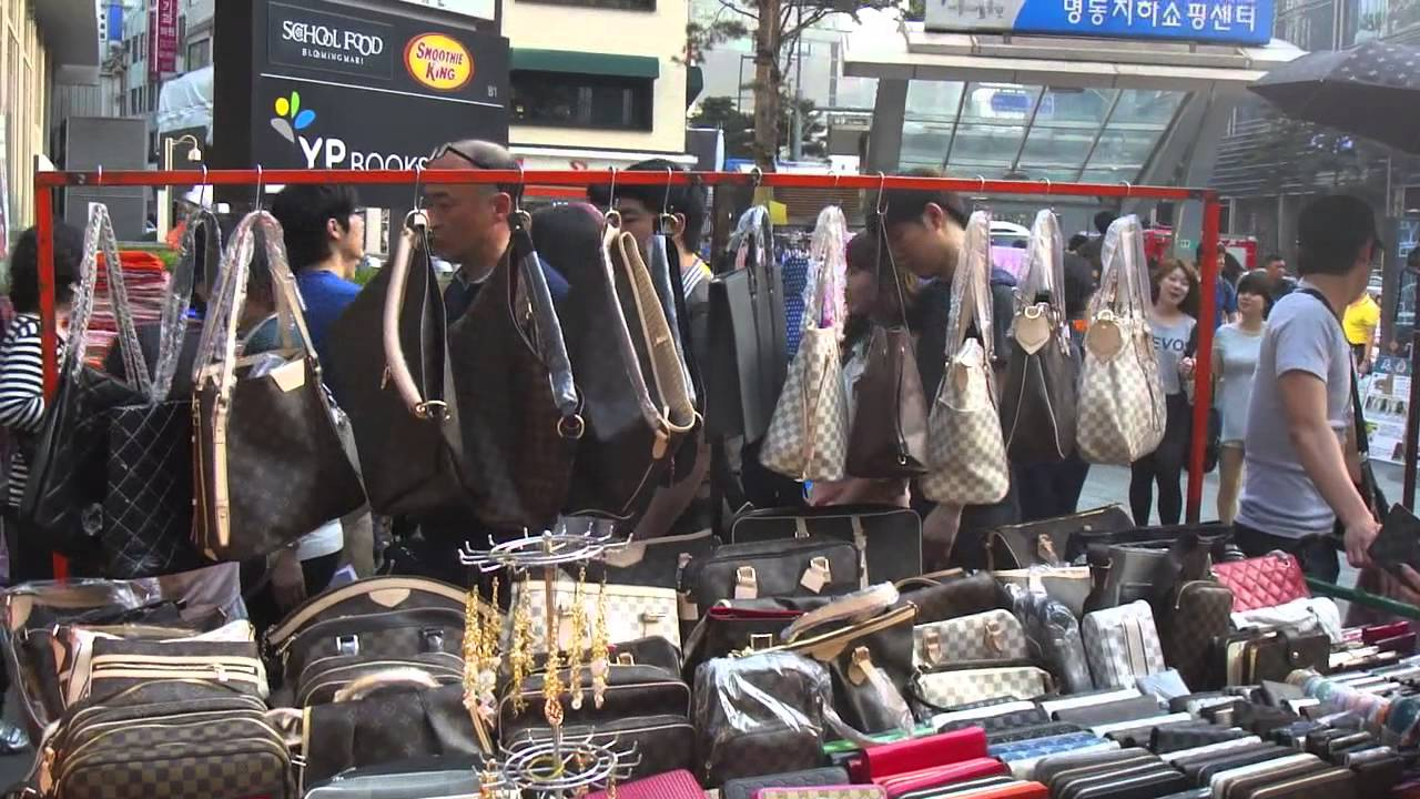 fe5e2f595529 Myeong-dong Market