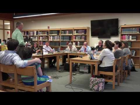 Rhinebeck Board of Education meeting 5-23-17
