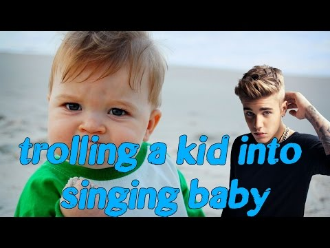 Trolling kid into SINGING Justin Bieber  (GTA 5 Online Trolling)