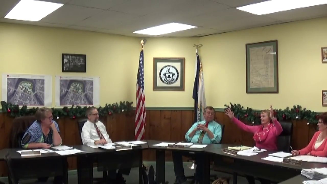 Champlain Village Board Meeting part two  12-11-17