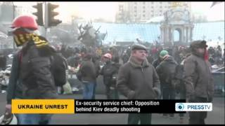 Kiev carnage carried out from opposition building: Ex-official