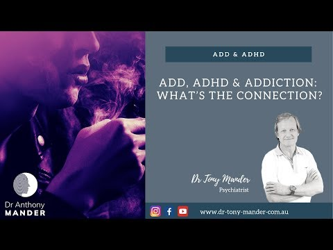 ADHD and Addictions   Explained by Perth Dr Tony Mander