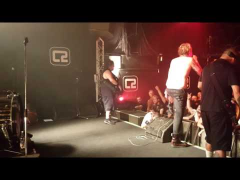 Fear Factory - Archetype Stage View Live Brighton August 2016
