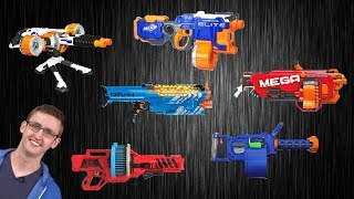 [VS] Nerf Heavy Gunner Showdown | Which Support Blaster is Best?!