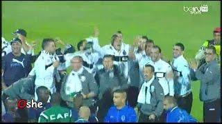 اللحظات الاخيرة من مباراة فيتا كلوب وفرحة وفاق سطيف بالفوز بدوري أبطال أفريقيا 2014