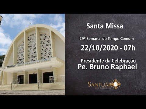 Santa Missa - 22/10/2020 - 07h - Pe. Bruno Raphael
