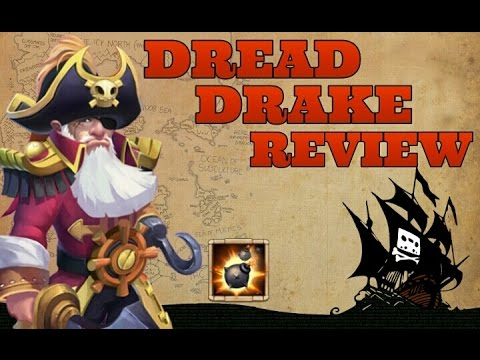Castle Clash Dread Drake Full Review!