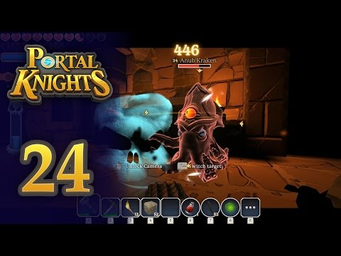 Let's Play Portal Knights Ep24 | Tomb Of C'Thiris