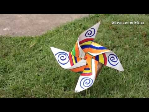 Pinwheels for Peace at West Broad Street Elementary School