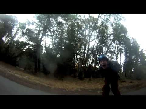Ashland oregon downhill skateboarding