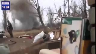 Прямое попадание в танк БТР Украина АТО видео боя(ЛАЙК под видео+подписка отвечу тем же!, 2015-02-18T06:25:59.000Z)