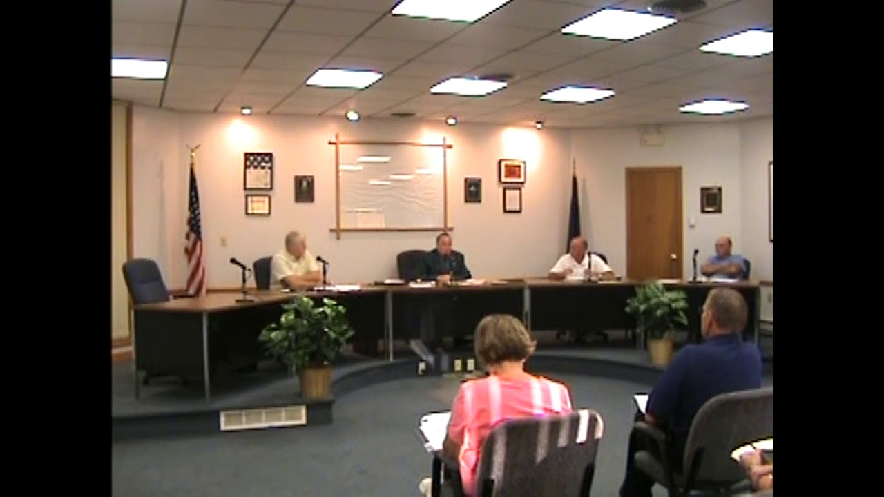 Rouses Point Village Board Meeting  8-16-10