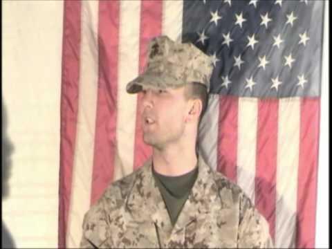 Cory Kingston U.S Marine