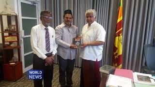 Arjuna Ranatunga, World Cup winning legend, gifted Quran by Ahmadi Muslims