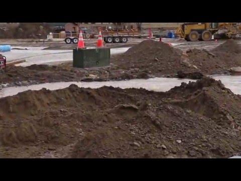 Video: Water Line Breaks Near College of Southern Idaho