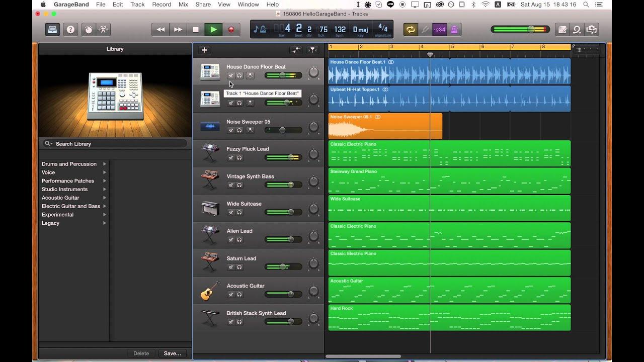 [Project File Free Download] Techno Pop beat using GarageBand