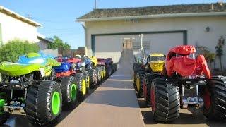 """MTDH01 Monster Truck Downhill Racing """"Walker Invitational"""""""