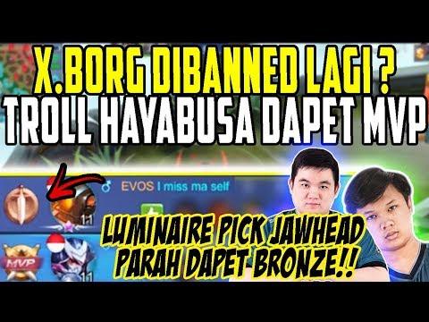 LUMINAIRE GANGU LAGI!!! DONKEY PICK HAYABUSA KERASUKAN OURA!!