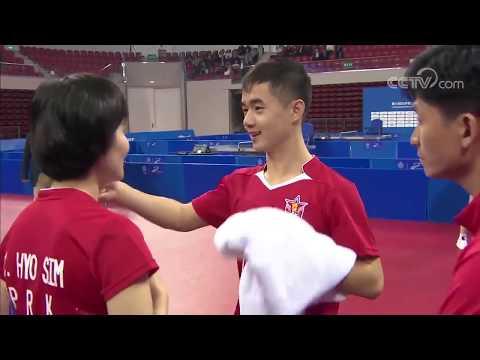 Military World Games 2019 - Mix Double SF:  Fan Zhendong/Mu Zi Vs Ham YuSong/Cha HyoSim