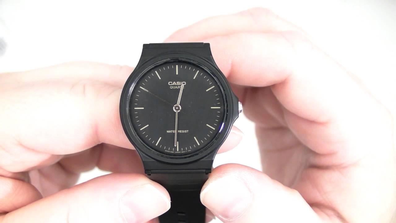 differently 64bb3 d27f8 CASIO Men's Casual Wristwatch MQ24 Module 705 or Module 1330