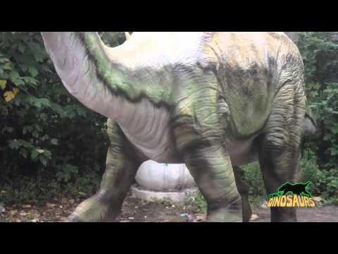 Animatronic Edmontosaurus