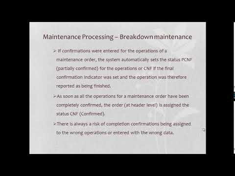 SAP PM Breakdown Maintenance | SAP PM Tutorials