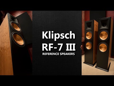 Klipsch RF 7 III Reference Series Flagship Floorstanding Speaker