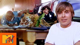 Ashley Tisdale Tricks Zac Efron With Shop Robbery Prank | Punk'd