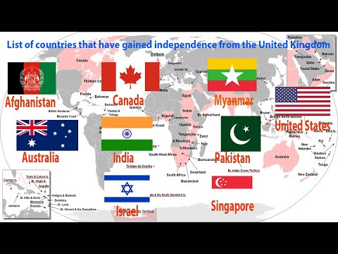List of countries that have gained independence from the United Kingdom