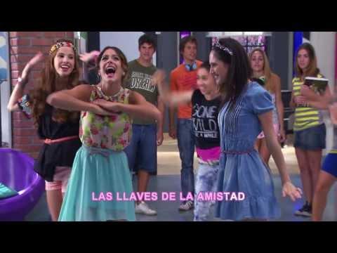 Disney Channel España | Videoclip Karaoke Violetta - Código Amistad