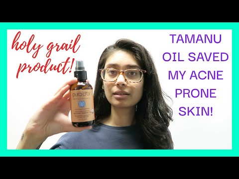 HOW TO CLEAR SKIN NATURALLY USING TAMANU OIL (DRY SKIN, ACNE, ACNE SCARRING & HYPERPIGMENTATION)