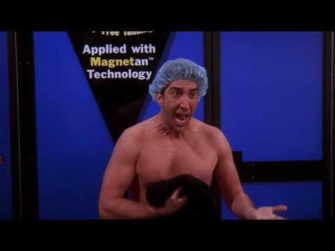 Ross goes to tanning place HD