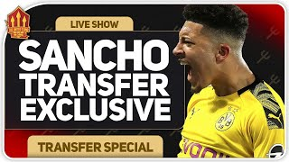 Sancho Transfer Exclusive! Man Utd Transfer News
