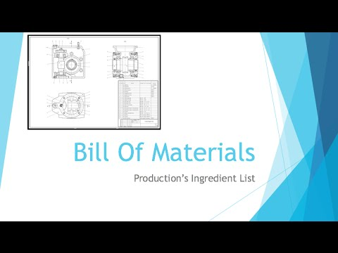Beginning Engineers Bill Of Materials - Youtube