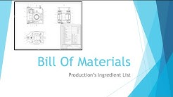Beginning Engineers Bill Of Materials