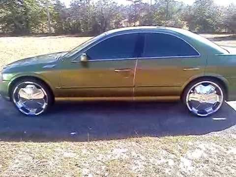 lincoln ls on 22s  YouTube