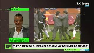 Gimnasia espera a Maradona: