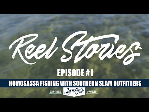Live To Fish Reel Stories: Homosassa Fishing With Southern Slam Outfitters