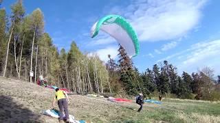 Paragliding Uhnov - Hrabvka - Doln jezd 16.10.2018