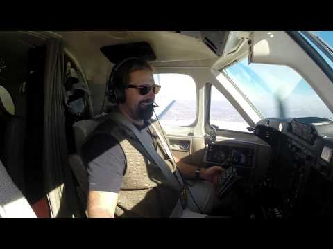 King Air B200 Flying
