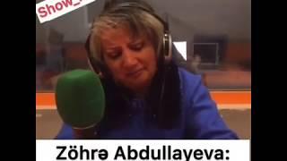 """Zöhrə Abdullayeva hönkür-hönkür ağladı: """"Ən bədbəxt anayam""""-VİDEO"""