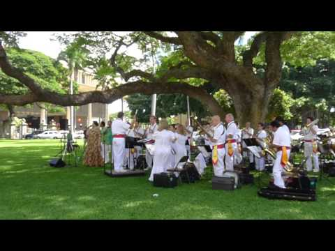 HONOLULU: National Anthem of Hawaii by The Royal Hawaiian Band