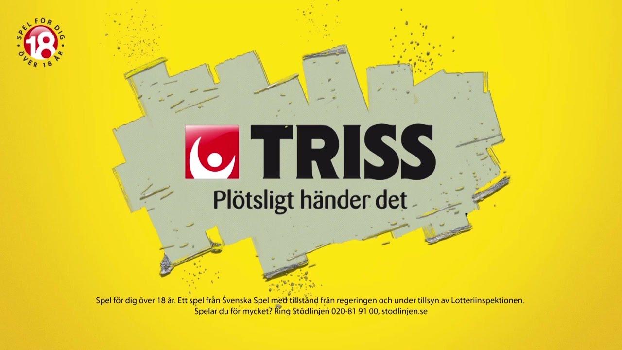 vinner någon på triss på svenska spel