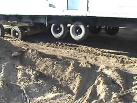 Mobile Home Delivery - YouTube on