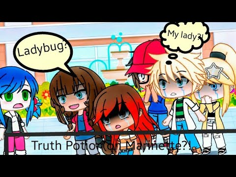 Download Truth potion on Marinette?!  ( MLB)  Gacha Life Meme  First vid😅 