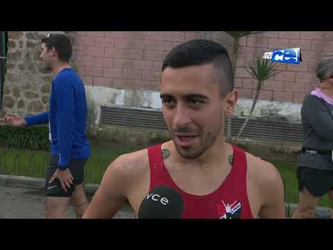 Ambiente festivo en la Media Maratón de Ceuta