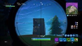 Can You Hit Through Cracks FORTNITE EPIC SHOT