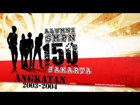 Reuni Perdana SMP Negeri 150 Jakarta angkatan 2003-2004 (Full Video)