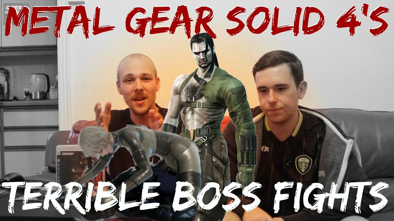 metal gear solid 4 s terrible boss fights retro perspective review metal gear solid 4 s terrible boss fights retro perspective review part 2